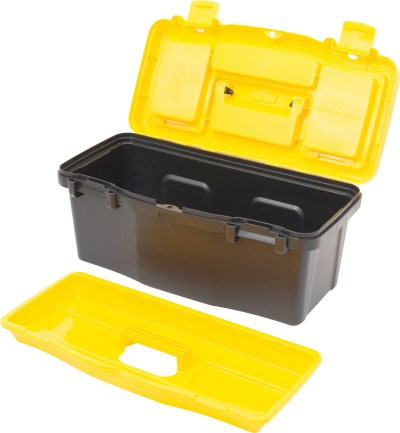 Boost your organisational prowess with this container. Originally filled with local air, fill it with your beekeeping tools!