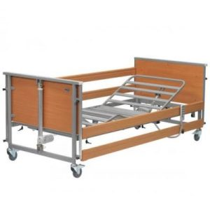 BED Hosp/Homecare Casa Classic Electric Hi-Low Single Bed up to 140KG with side rails Buy/Hire