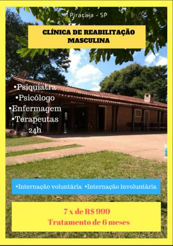 Clínica de recuperação em São Paulo para tratamento da dependência química e alcoolismo.