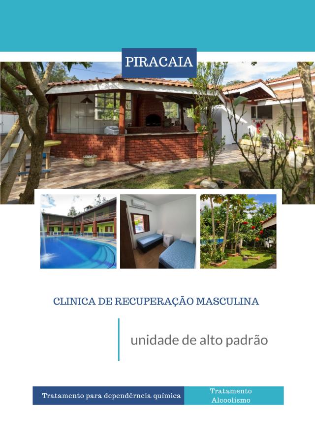 Clinicas de reabilitação em São Paulo - Masculinas Alto Padrão