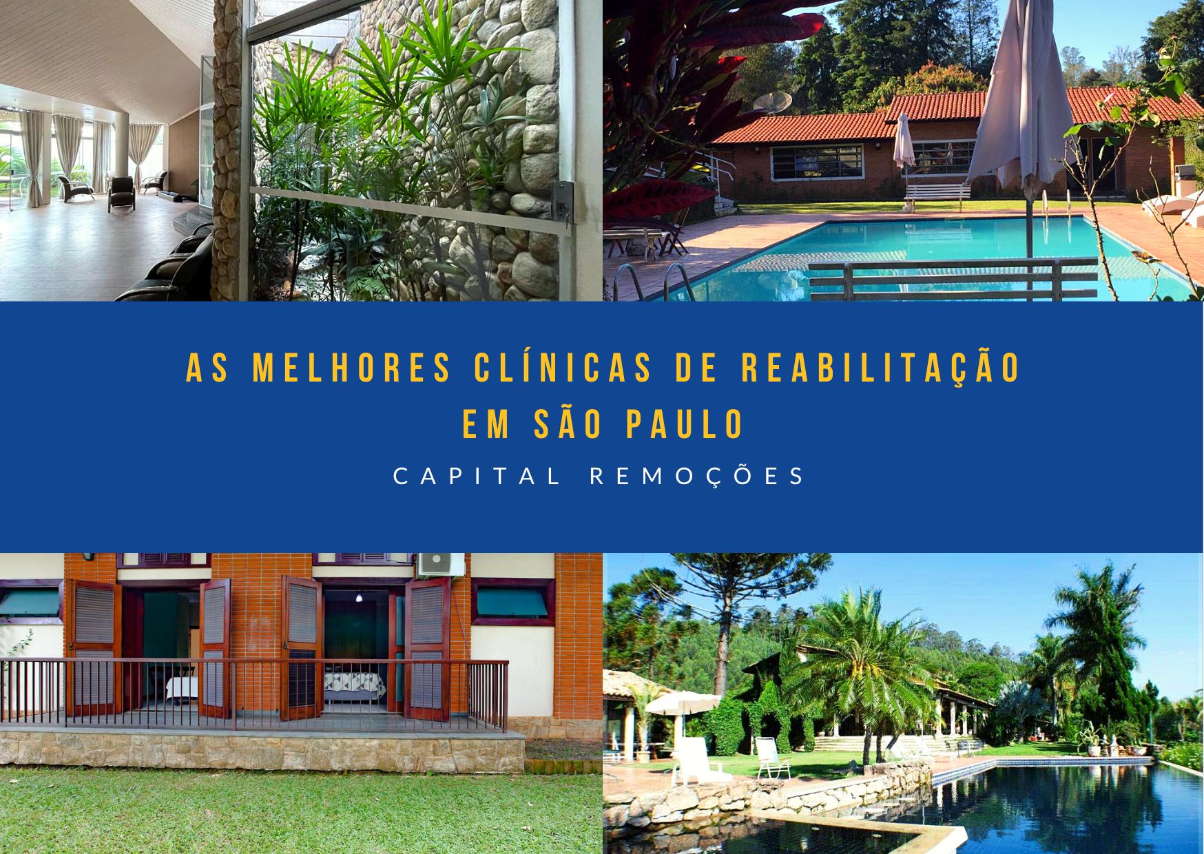 Clínica de reabilitação em São Paulo - Masculinas e Femininas Alto Padrão