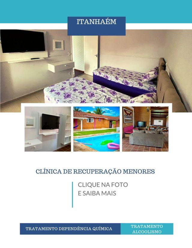 Clinica de recuperação para alcoólatras e dependentes químicos em SP - Itanhaém