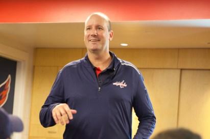 Todd Reirden lectures us.