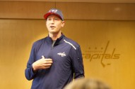Video coach Brett Leonhardt.