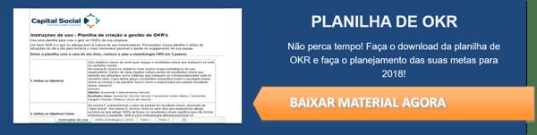 Botão para download de planilha OKR