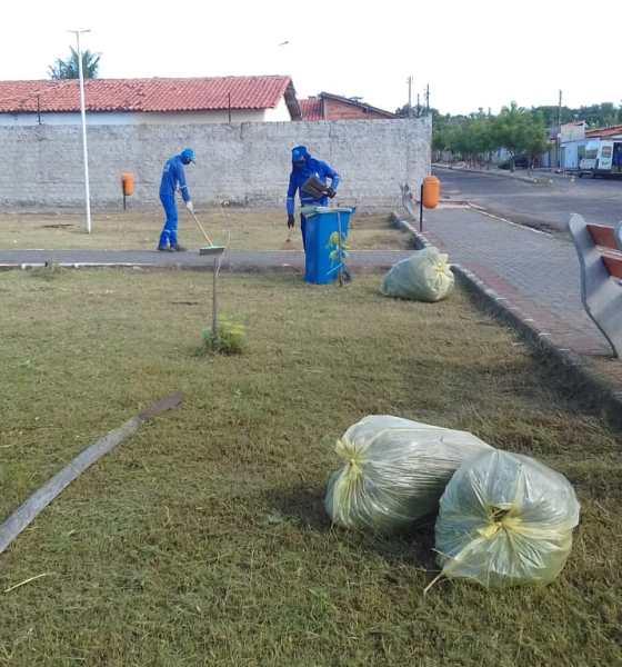 Programação de Limpeza nos Bairros da Prefeitura de Teresina