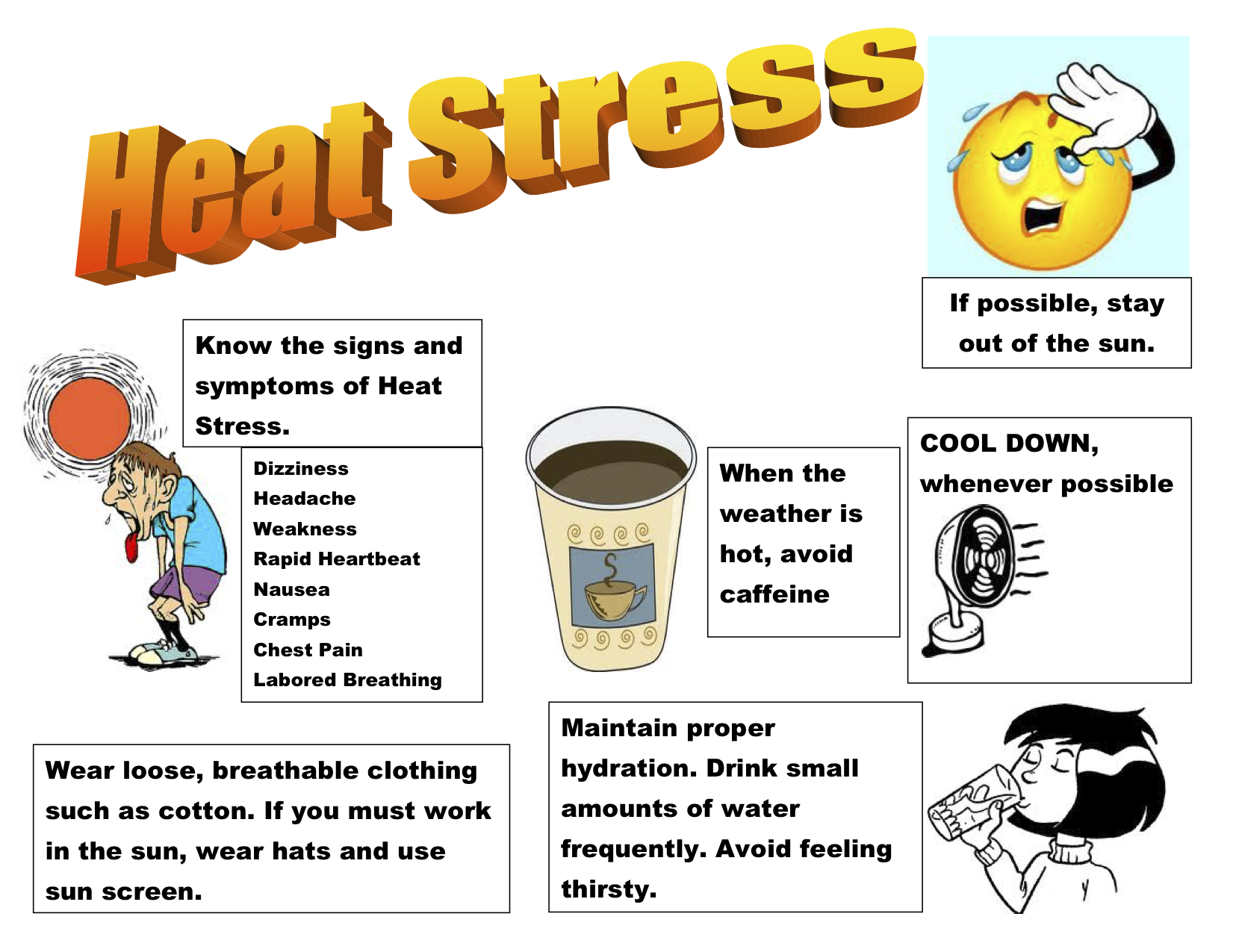 Its Summertime Know The Symptoms Of Heat Stress