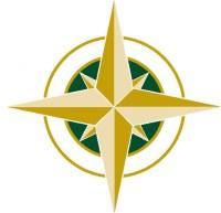Compass Portion of Logo