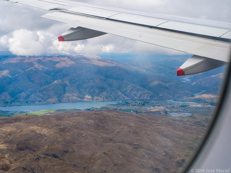 Air NewZealand em Queenstonw