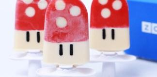 Paletas heladas de Super Mario Mushroom