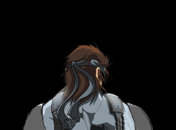 Solid Snake dando la espalda 1