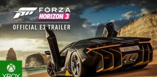 Forza Horizon 3 E3 2016