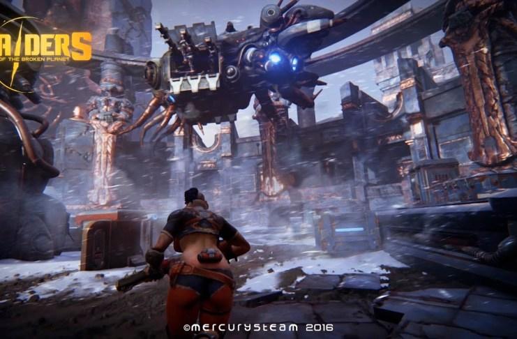 Raiders of the Broken Planet E3 2016
