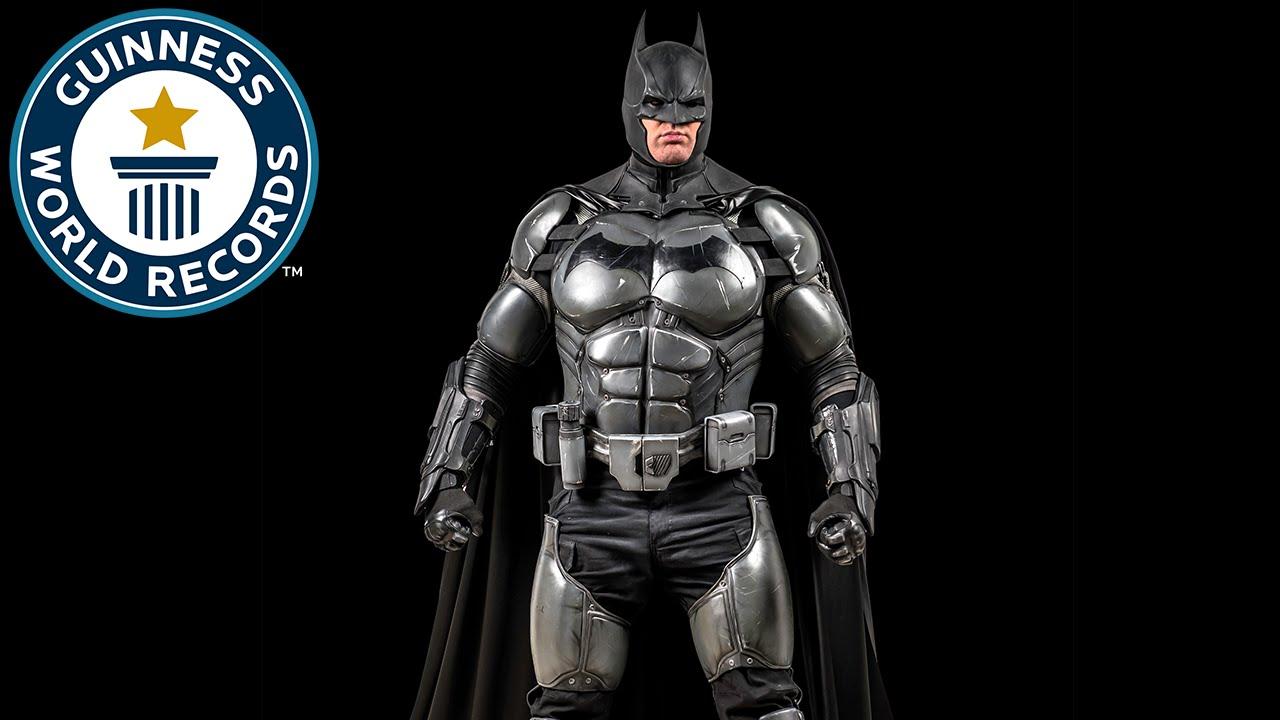 Record Guinness por increíble Cosplay de Batman