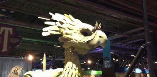 Wiz Chocobo increíble booth de Square Enix en el EGX
