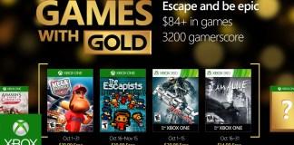 Games with Gold para Octubre de 2016