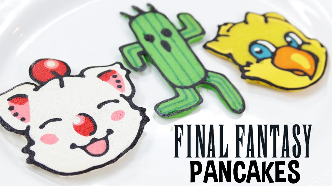 Final Fantasy Pancakes
