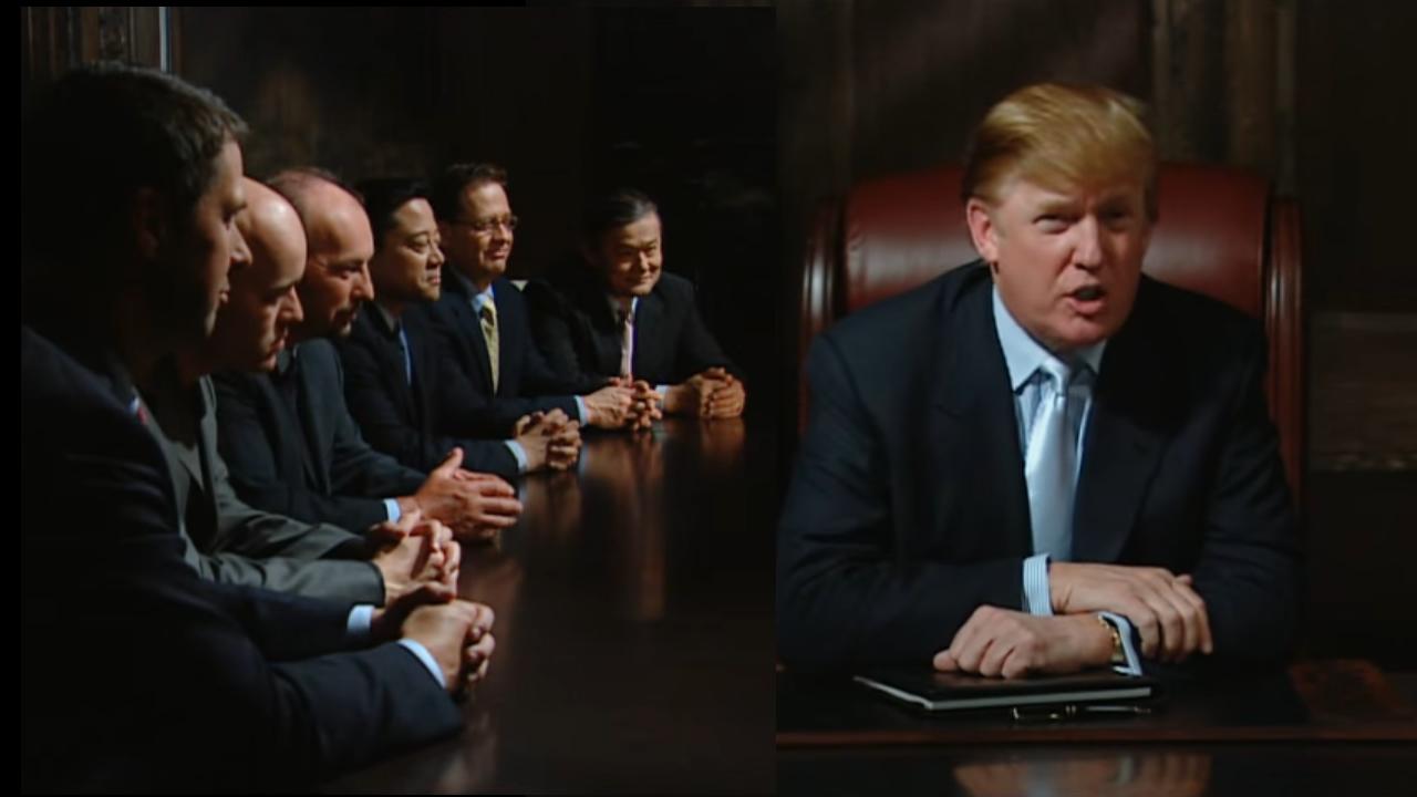 Donald Trump aparece despidiendo a un equipo falso de PlayStation