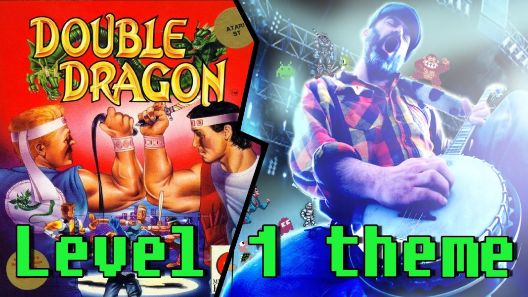 Double Dragon ★ Arrival of the Black Warriors Level1 interpretado por BanjoGuyOllie
