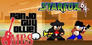 Starfox 64 Star Wolf interpretado por Banjo Guy Ollie y el Mariachi Entertainment System