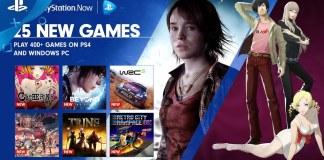 PlayStation Now agrega 25 nuevos títulos para noviembre de 2016