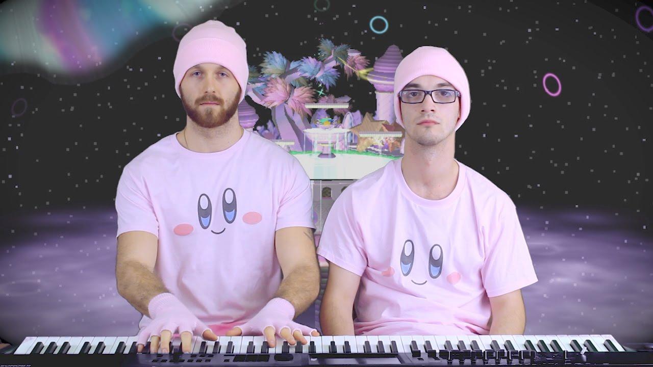 Dueto en piano de Fountain of Dreams Super Smash Bros Melee por Frank y Zach