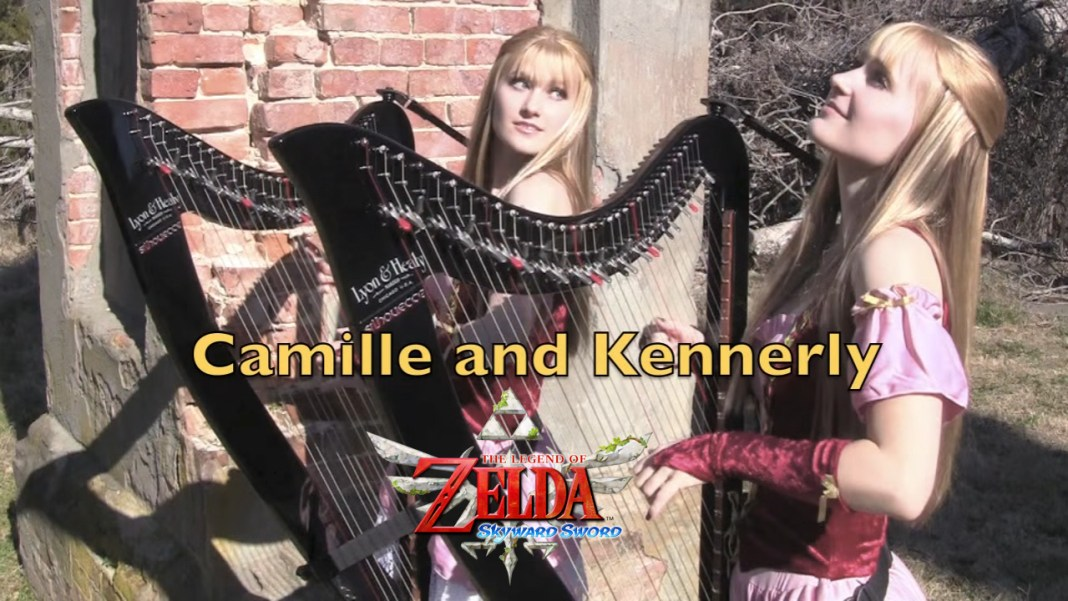 ZELDA Skyward Sword Ballad of the Goddess interpretado por Camille y Kennerly Kitt