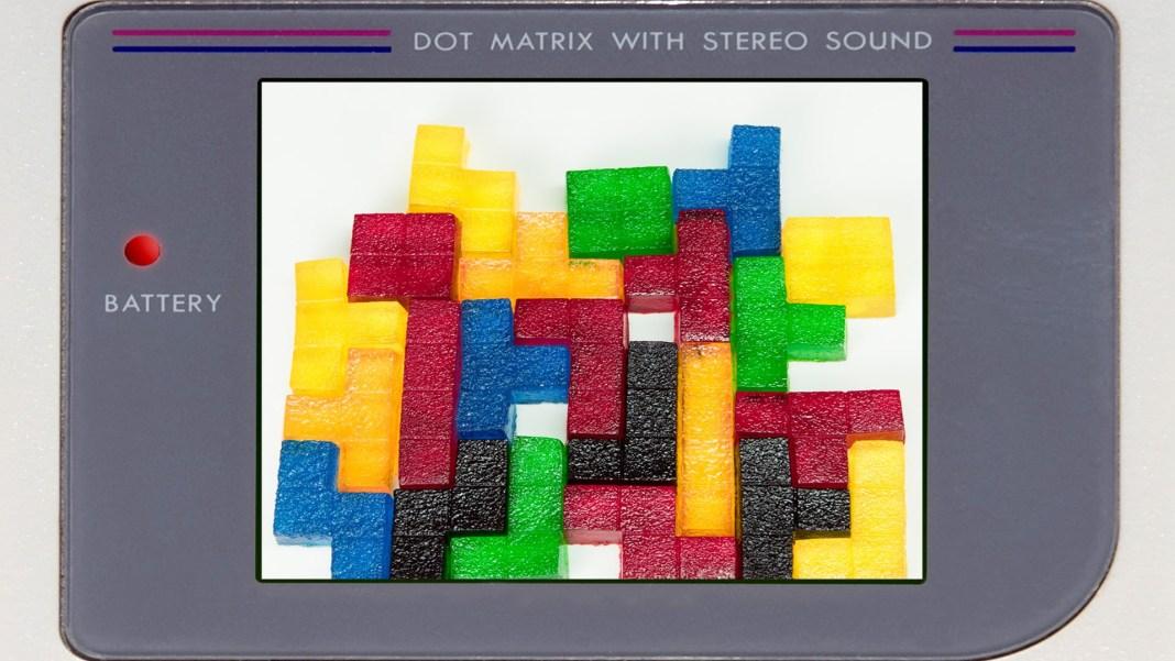 Como hacer gomitas de Tetris