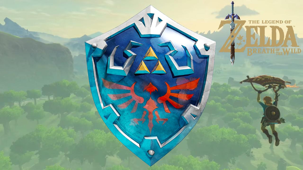Como obtener el escudo de Hylian en The Legend of Zelda Breath of the Wild