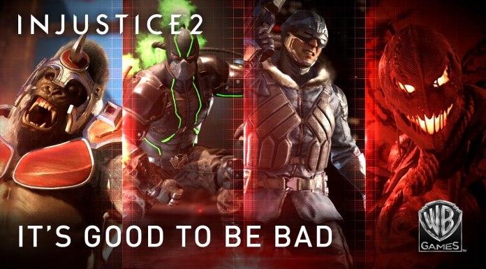Es bueno ser malo el nuevo trailer de Injustice 2