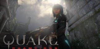Video de Quake Champions mostrando a Nyx como la primera heroína