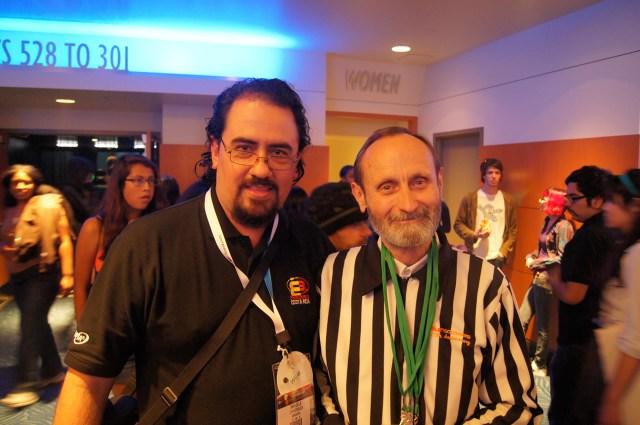 Walter Day y Marcelo Chinchilla 6 de junio de 2012 en concierto Video Games Live