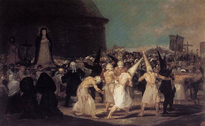 Procesión de flagelantes, 1793 - Francisco Goya