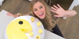 Como hacer un queque de PAC-MAN creado por iJustine