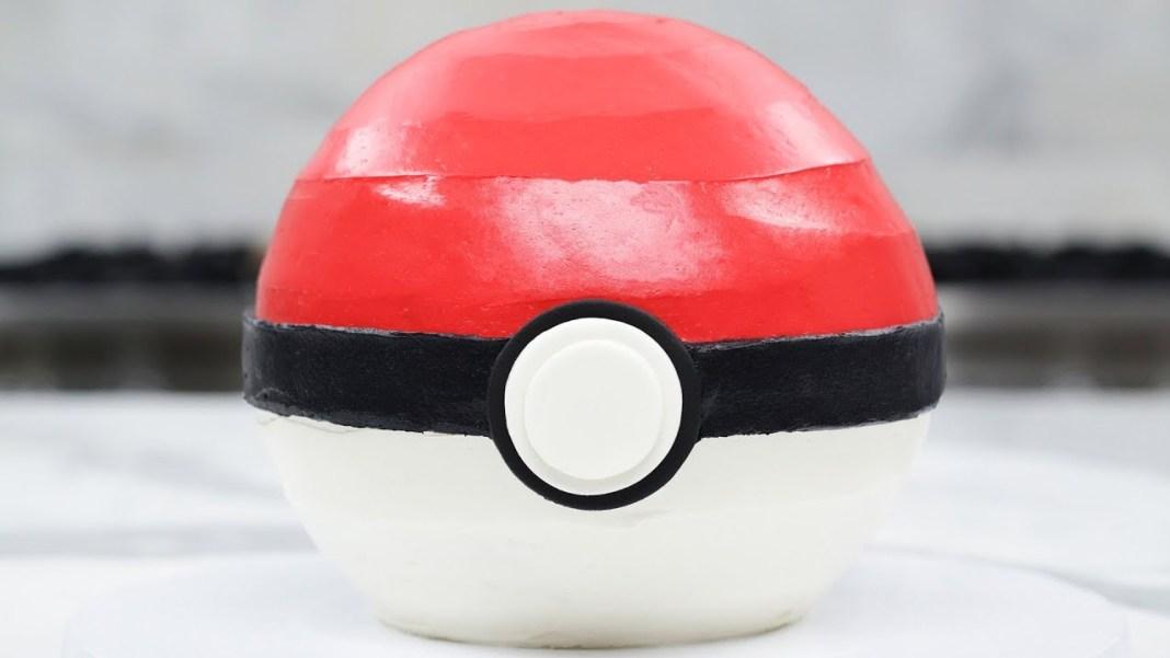 Como preparar un queque Pokemon Poke Ball