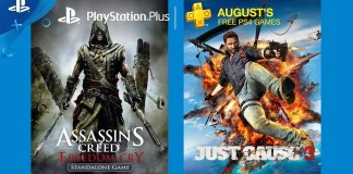 PlayStation Plus de agosto de 2017