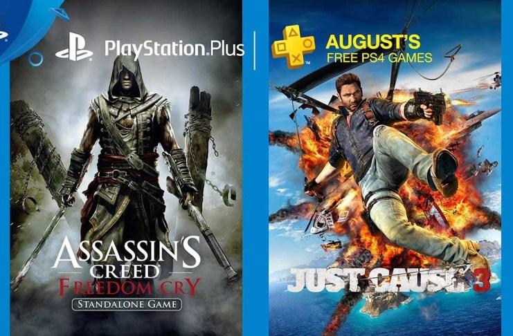 PlayStation Plus de agosto de 2017