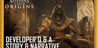 Preguntas y respuestas para desarrolladores de Assassins Creed Origins