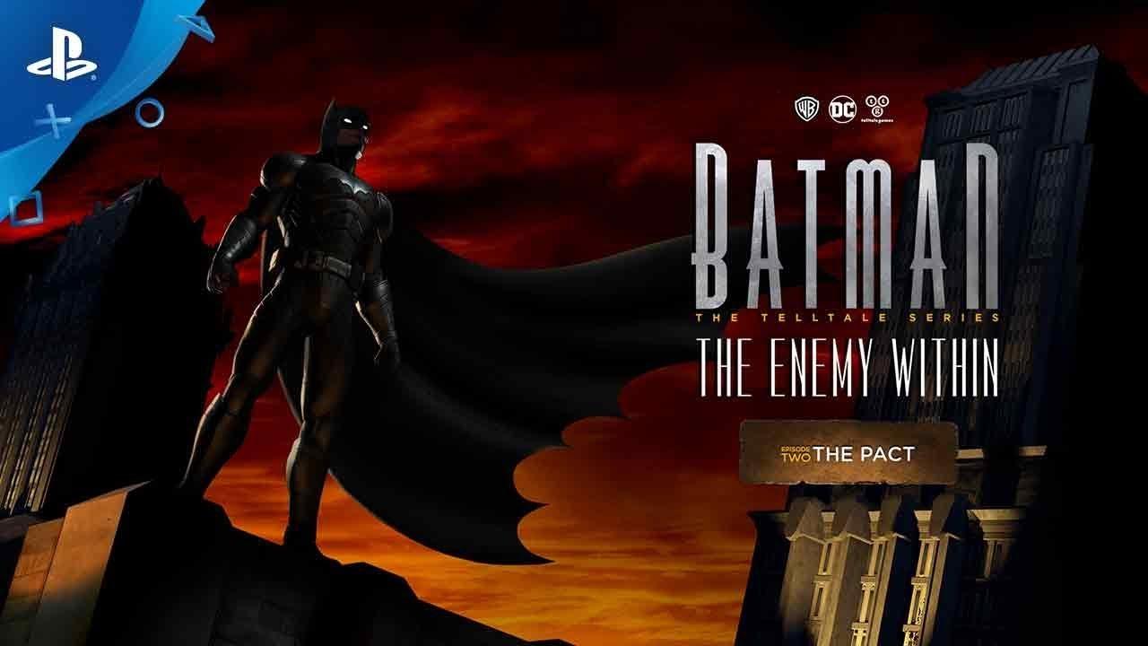 Tráiler del segundo episodio de Batman The Enemy Within