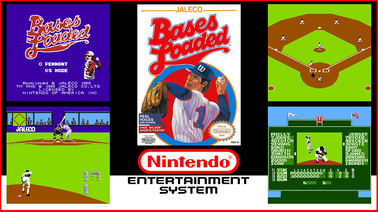 Bases Loaded NES