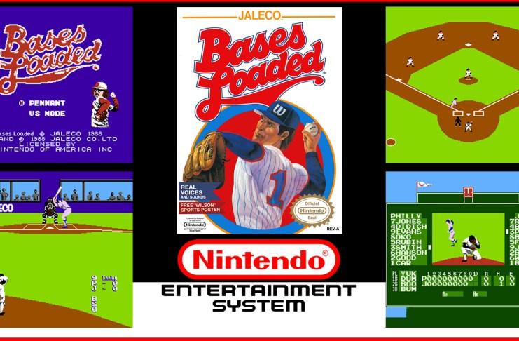 Bases Loaded NES