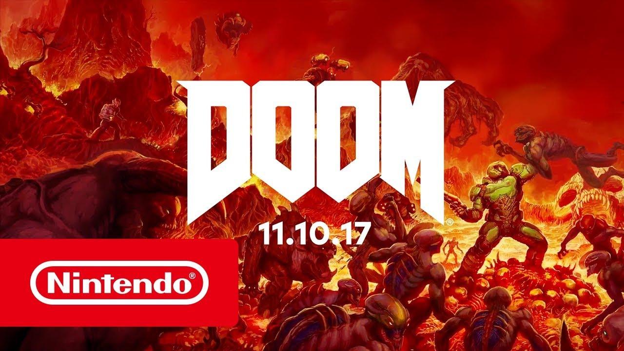 DOOM para Switch se publicará el 10 de noviembre