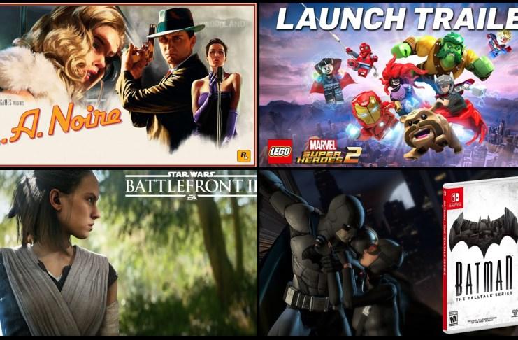 Lanzamientos de videojuegos de la semana del 13 al 19 de noviembreLanzamientos de videojuegos de la semana del 13 al 19 de noviembre