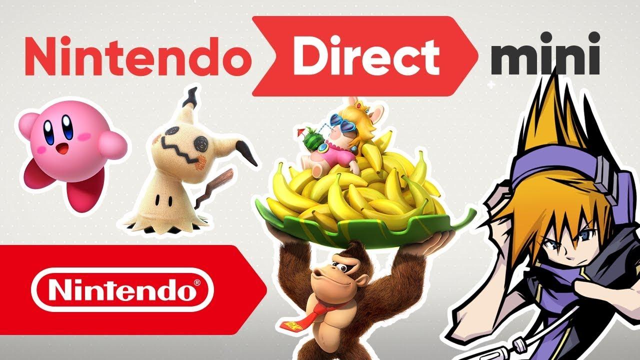 Nintendo Direct del 11 de enero de 2018