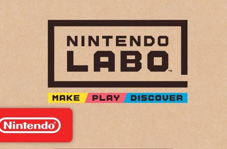 Nintendo LABO es lo nuevo de la gran N