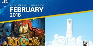 PlayStation Plus del mes de febrero de 2018