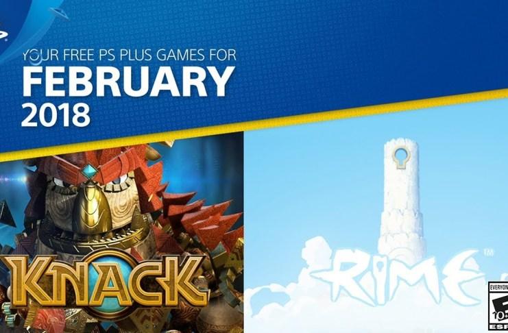 PlayStation Plus del mes de febrero de 2018