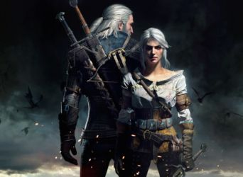 The Witcher 3-Geralt and Ciri