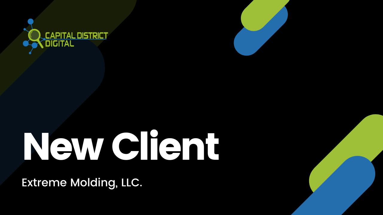 New Client Announcement Extreme Molding
