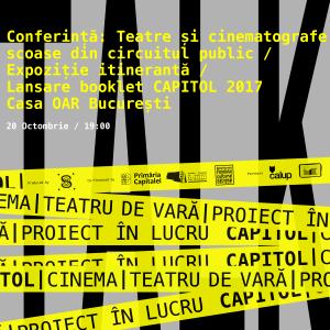 CAPITOL Talks 2 @ HUB A, Casa OAR București